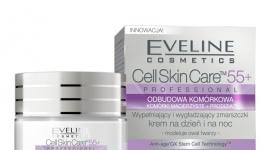 Cell Skin Care 55+ PROFESSIONAL ODBUDOWA KOMÓRKOWA LIFESTYLE, Uroda - CELL SKIN CARE™ ODBUDOWA KOMÓRKOWA to profesjonalny program odmładzający opracowany przez ekspertów laboratoriów Eveline Cosmetics w oparciu o najnowsze osiągnięcia współczesnej kosmetologii i medycyny estetycznej.