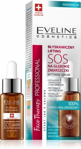 BŁYSKAWICZNY LIFTING SOS NA GŁĘBOKIE ZMARSZCZKI Eveline Cosmetics