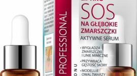 """BŁYSKAWICZNY LIFTING SOS NA GŁĘBOKIE ZMARSZCZKI Eveline Cosmetics LIFESTYLE, Uroda - Innowacyjna formuła bogata w czysty 100% kwas hialuronowy, to niezwykły """"koncentrat młodości""""."""