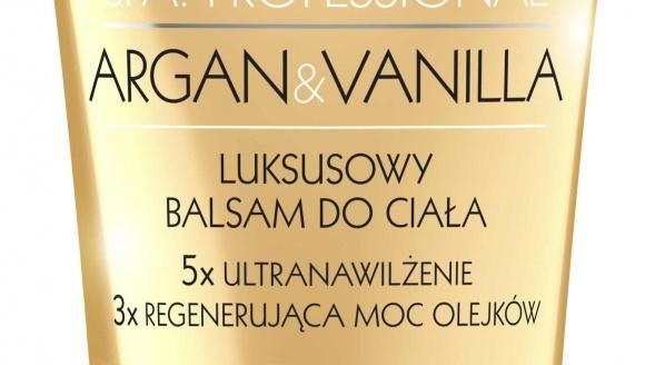 Luksusowy Balsam do ciała od Eveline Cosmetics ARGAN&VANILLA
