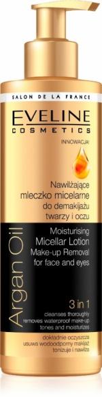 Nawilżające mleczko micelarne Eveline Cosmetics Argan Oil