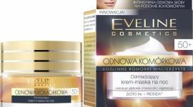 Odmładzający krem-maska na noc 50+ Eveline Cosmetics ODNOWA KOMÓRKOWA LIFESTYLE, Uroda - Odmładzający krem-maska na noc 50+ Eveline Cosmetics przeznaczony do codziennej pielęgnacji każdego rodzaju skóry, również wrażliwej, po 50 roku życia.