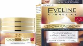 krem na dzień 40+ Eveline Cosmetics ODNOWA KOMÓRKOWA LIFESTYLE, Uroda - Przeciwzmarszczkowy nawilżający krem na dzień 40+ Eveline Cosmetics przeznaczony do codziennej pielęgnacji każdego rodzaju skóry, również wrażliwej, po 40 roku życia.