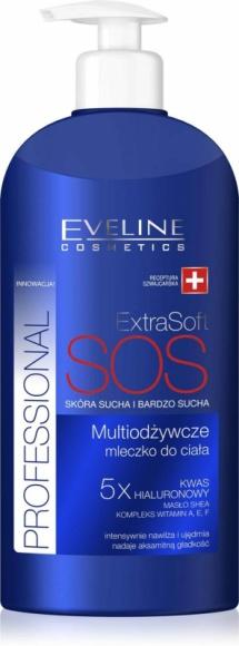 Eveline Cosmetics Multiodżywcze mleczko do ciała Extra Soft Professional