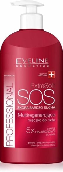 Eveline Cosmetics Multiregenerujące mleczko do ciała Extra Soft Professional
