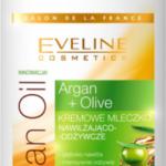 Kremowe mleczko nawilżająco-odżywcze ARGAN & OLIVE Eveline Cosmetics