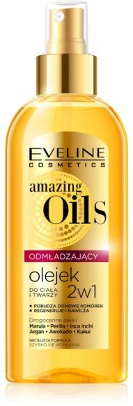 Eveline Cosmetics Odmładzający olejek do ciała i twarzy z serii amazing Oils