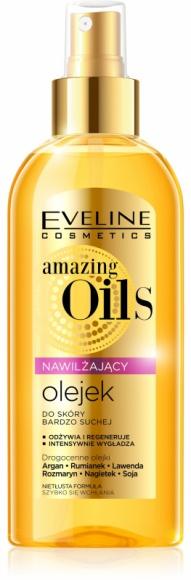 Eveline Cosmetics Nawilżający olejek do skóry bardzo suchej z serii amazing Oils