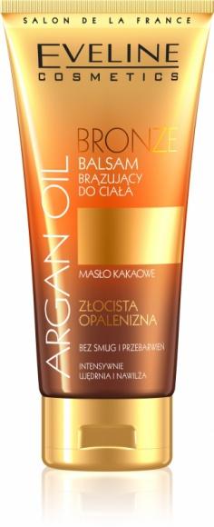 Eveline Cosmetics BRONZE Balsam Brązujący do ciała z serii ARGAN OIL