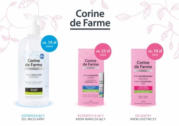 Francuska marka kosmetyczna Corine de Farme wprowadza kolejne nowości na polski