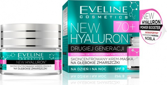 Eveline Cosmetics NEW HYALURON™ Krem-Maska na głębokie zmarszczki