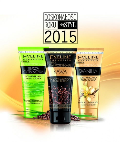 """Doskonałość Roku miesięcznika """"Twój Styl"""" 2015 dla Eveline Cosmetics"""