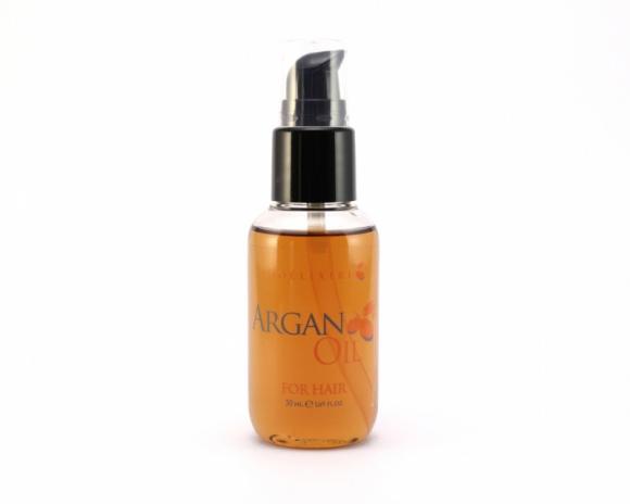 Gładka fruzura z serum BioElixire Argan Oil z olejkiem arganowym.