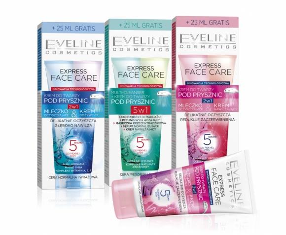 5 sekund do pięknej cery tylko z Express Face Care Eveline Cosmetics
