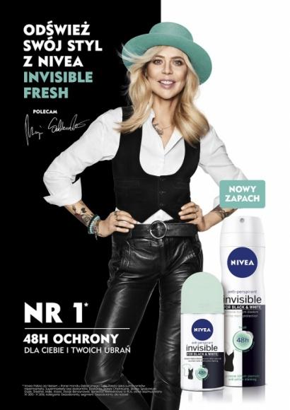 Bądź trendy – odśwież swój styl z nową odsłoną NIVEA Invisible