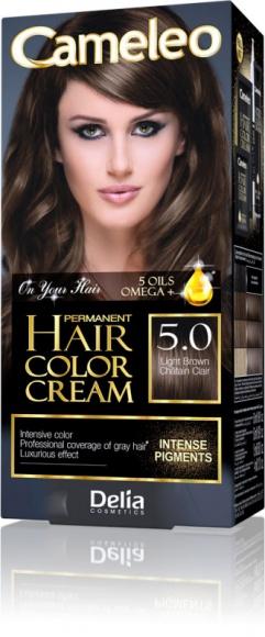 Cameleo Permanent Hair Color Cream. Podwójna ochrona koloru.
