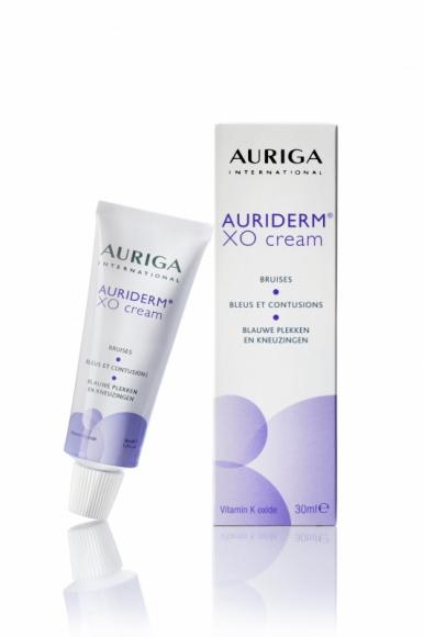 AURIGA: Auriderm XO Cream – doskonały po zabiegach, na siniaki i zaczerwienienia