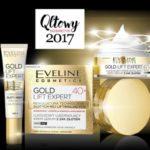 SERIA GOLD LIFT EXPERT EVELINE COSMETICS QLTOWYM KOSMETYKIEM 2017
