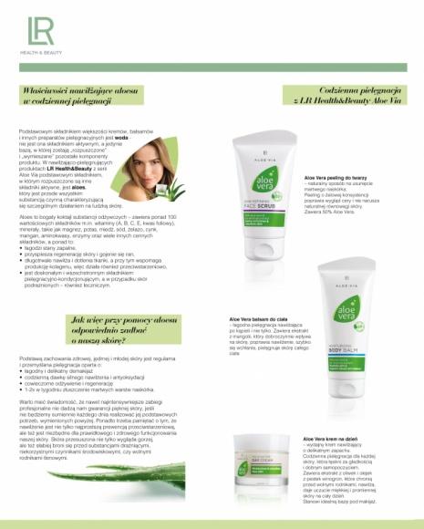 Moc aloesu w codziennej pielęgnacji. Odkryj linię kosmetyków LR Health&Beauty