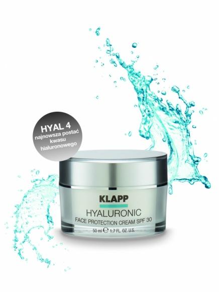 NOWOŚĆ od KLAPP Cosmetics! Nawilżenie i ochrona – HYALURONIC Face Protection Cr
