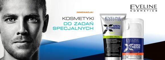 Eveline Cosmetics – Kosmetyki do zadań specjalnych z serii MEN X-TRÊME