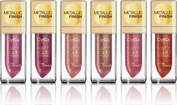 Metaliczne nowości od Delia Cosmetics