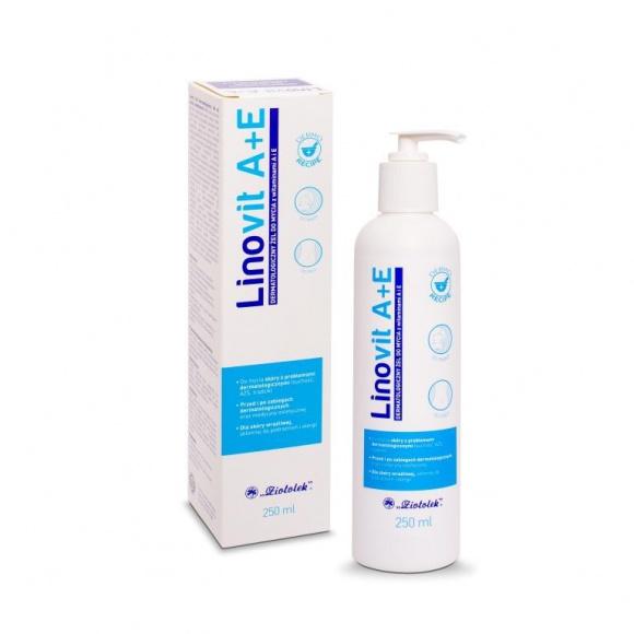 Linovit A+E – delikatna troska w pielęgnacji skóry