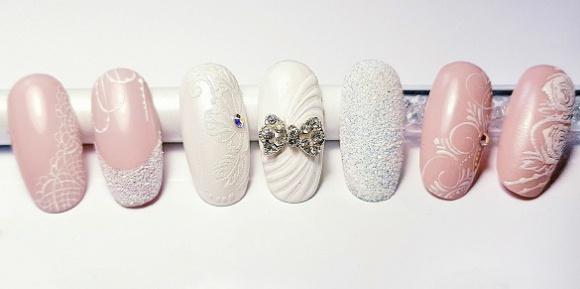 Trendy w manicure ślubnym od ChiodoPRO