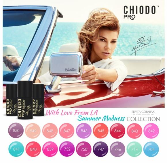 Nowa paleta lakierów hybrydowych na lato od ChiodoPRO