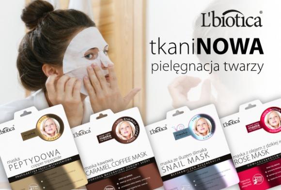 TkaniNOWE maski L'biotica