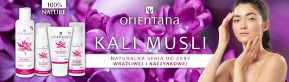 Seria kosmetyków do cery wrażliwej i naczynkowej KALI MUSLI