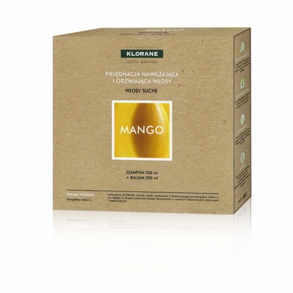 Klorane zestaw kosmetyków Mango do pielęgnacji włosów