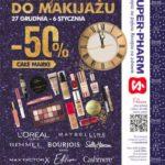 Promocja karnawałowa w Super-Pharm. Wykonaj makijaż w atrakcyjnej cenie