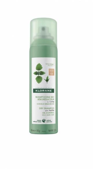 KLORANE szampon suchy na bazie ekstraktu z pokrzywy