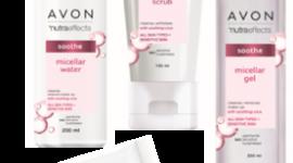 Domowe rytuały dla skóry wrażliwej z NutraEffects od Avon