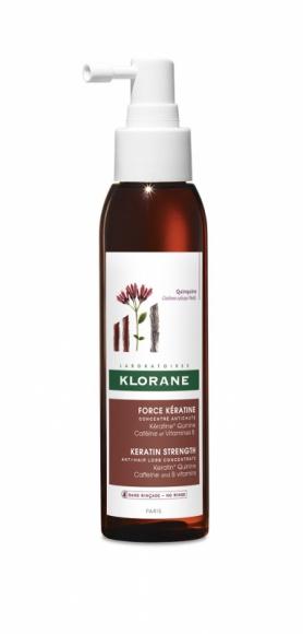 Force Keratine Koncentrat Klorane pomoże w walce z sezonowym wypadaniem włosów