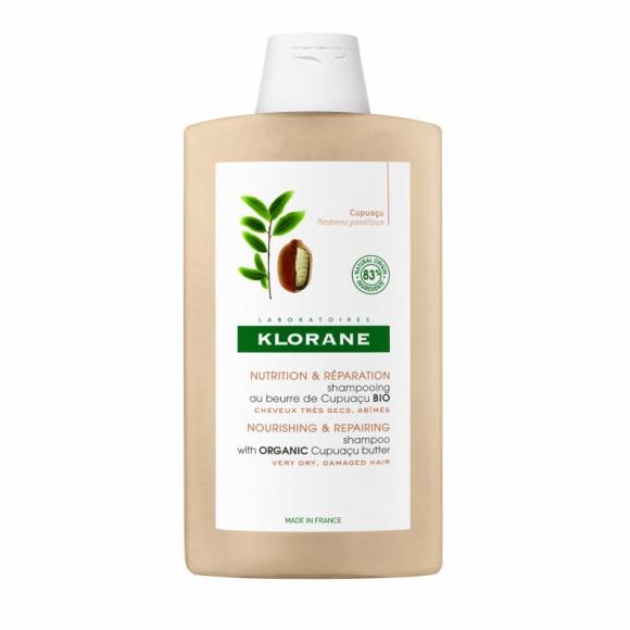 Klorane szampon z organicznym masłem Cupuaçu